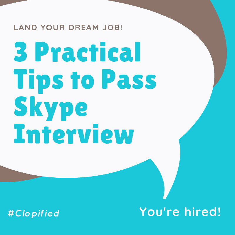 3 Practical Tips to Pass Skype Interview