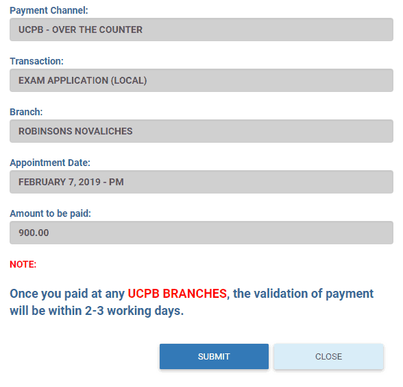 PRC LET 2019: Application and Online Registration Guide - UCBP over the counter