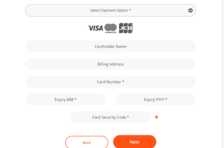 Register and Pay Meralco Bill Online - Step 2