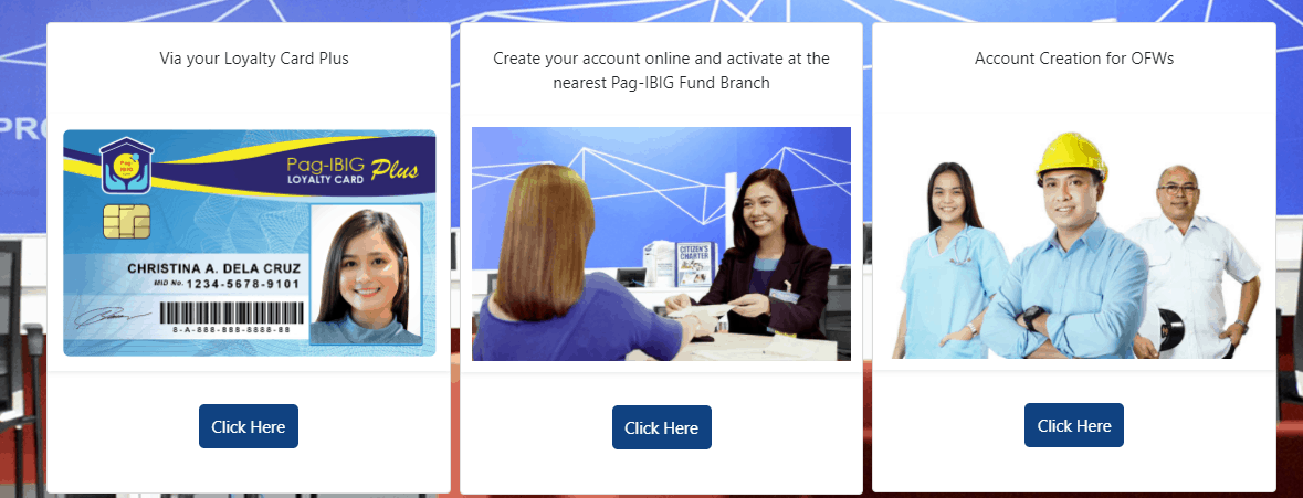 activate your online pag-ibig account