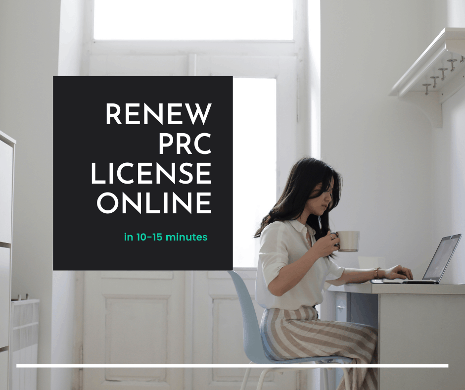 renew PRC license online