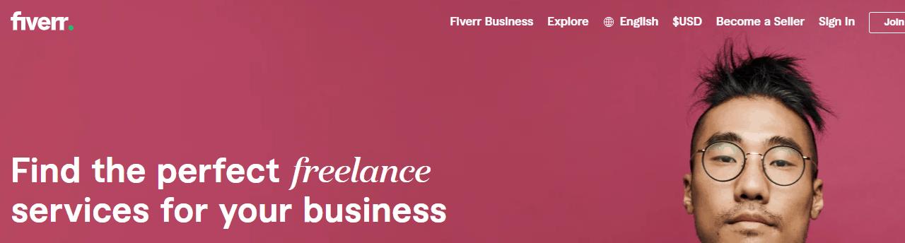 freelance website fiverr