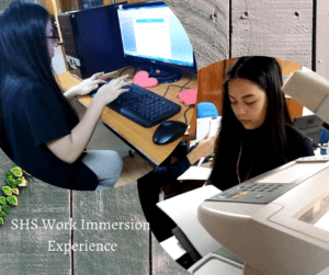 SHS Work Immersion Experience