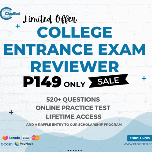 college entrance exam reviewer
