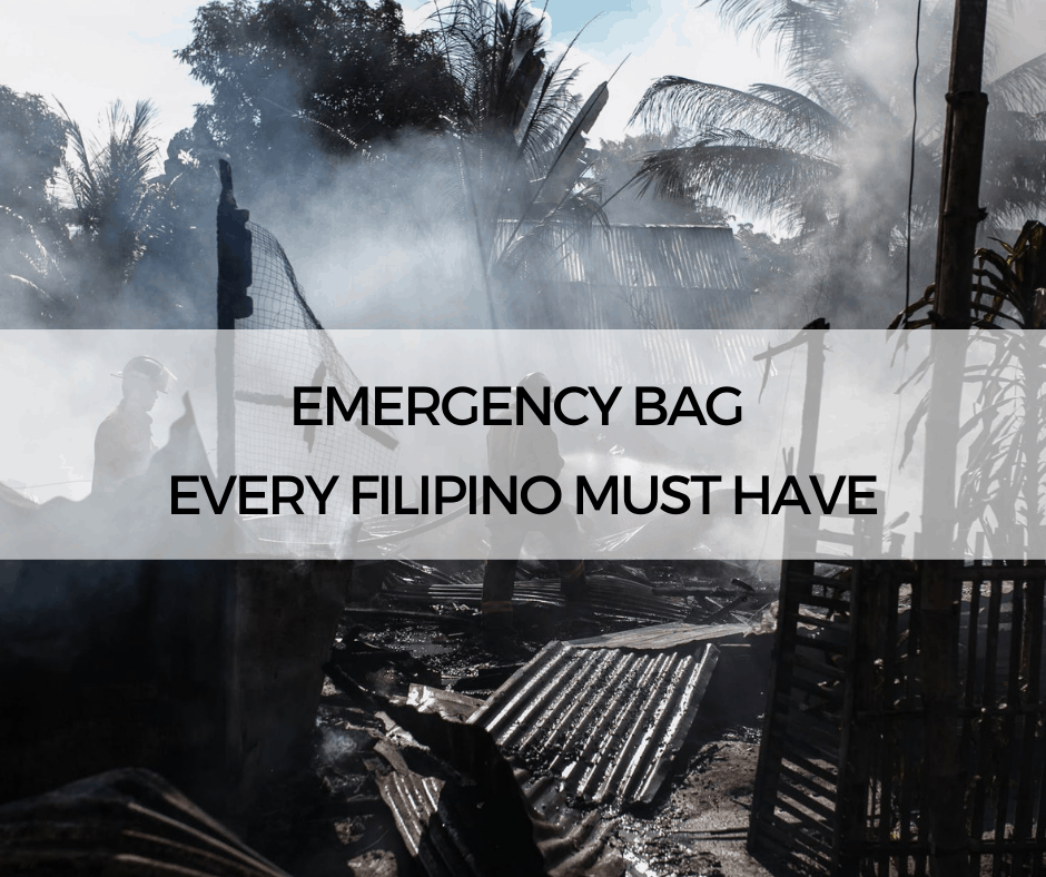Emergency Bag Every Filipino Must Have