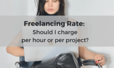 Freelancing rate: Should I charge per hour or per project