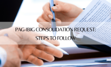 PAG-IBIG Consolidation Request